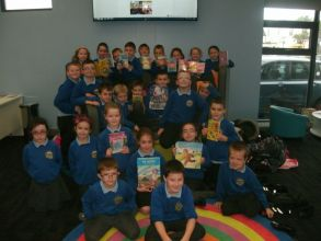 Primary 4/5 visit to Kilkeel Library